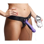 Fuse Strap On Electro Stim Harness Dildo