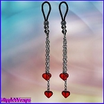 Red Heart Dangles