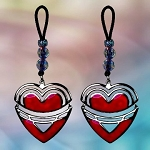 Heart Frame Dangle