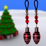 Red and white Ornaments